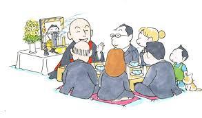 僧侶と家族・親族様との語らい