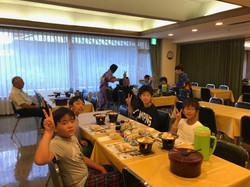 2日目旅館朝食①