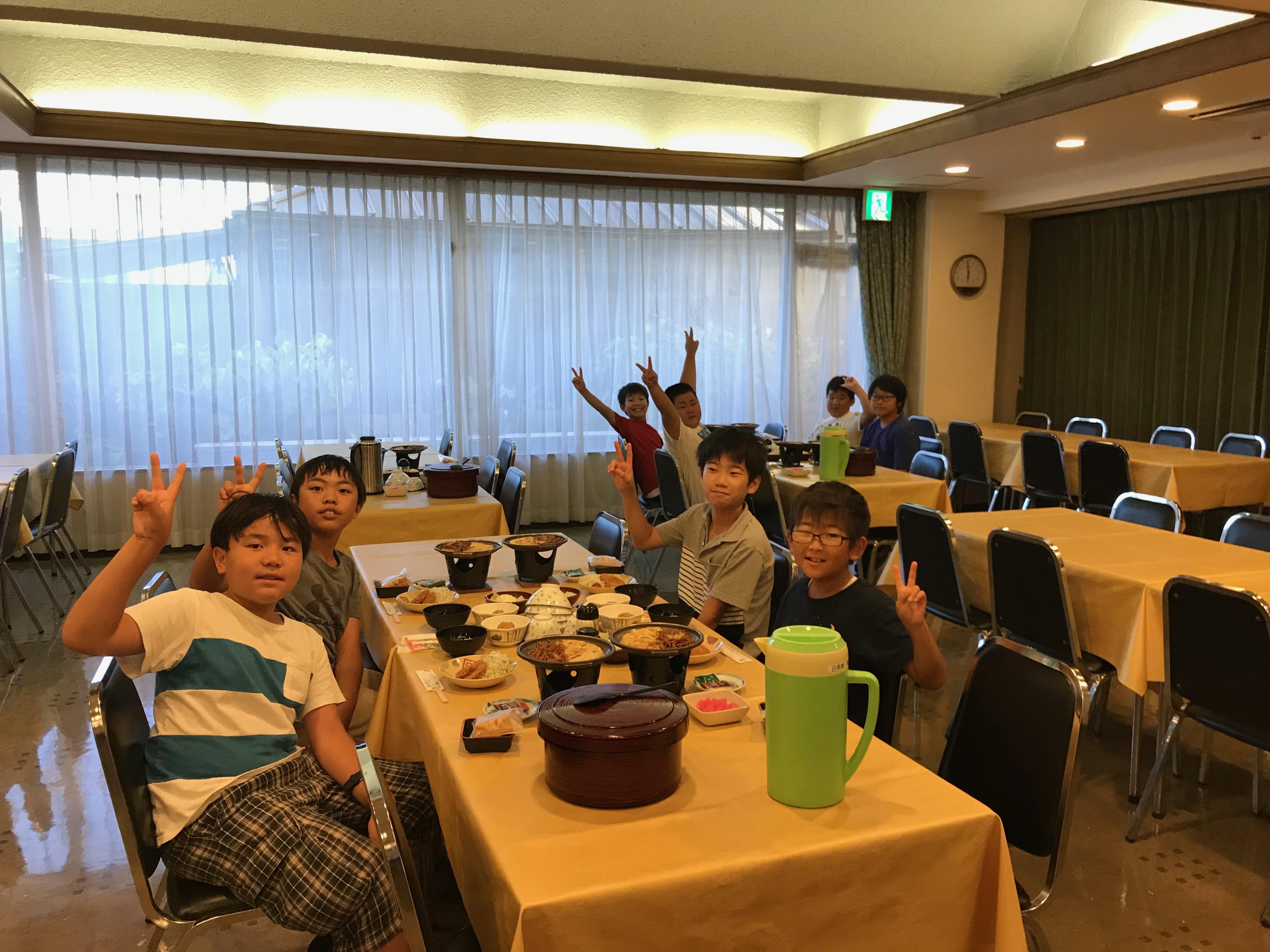 1日目旅館夕食①