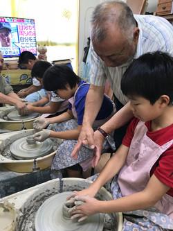 1日目陶芸教室②