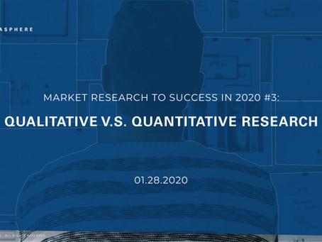 #3 - Why Marketing Fails | Qualitative v.s Quantitative Research