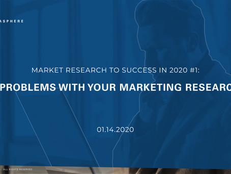#1- Why Marketing Fails? | 4 Problems With Your Marketing Research