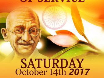 Community Event Gandhi Day