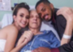 noiva visita avô | Cerimonial Daniela Cristina | Cerimonial sjc