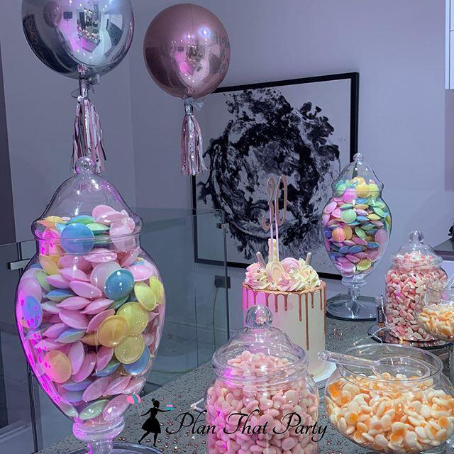 30th Birthday Candy Buffet