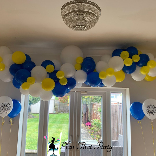 Leicester City Themed Balloons