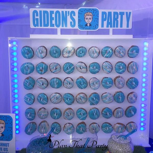 Gideon's Doughnut Wall