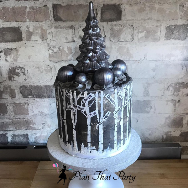Festive Tree Cake
