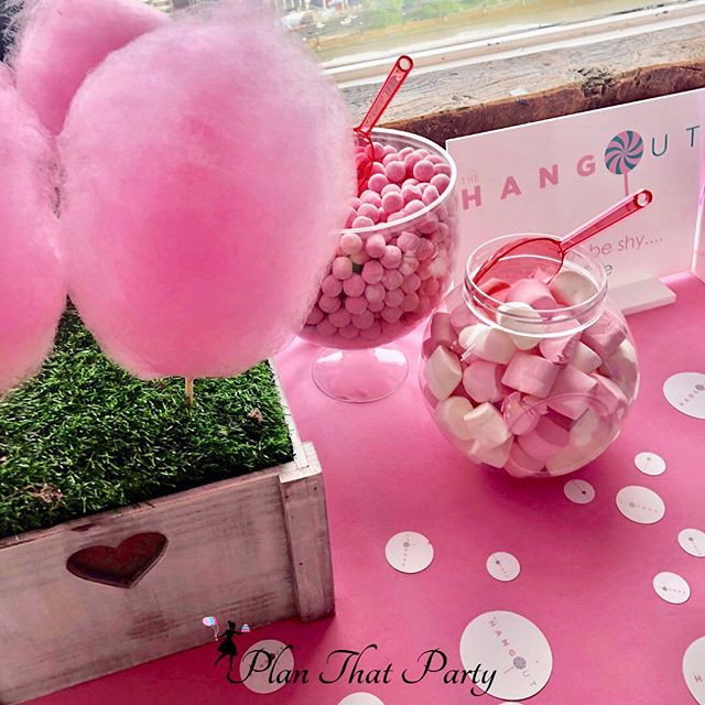 Pretty in Pink Candy Bar
