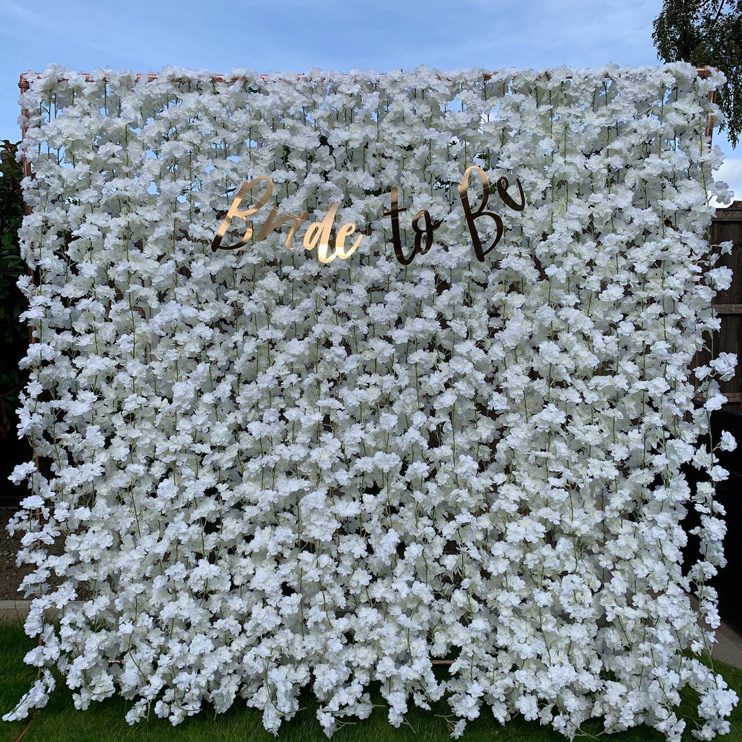Bridal Shower Blossom Wall