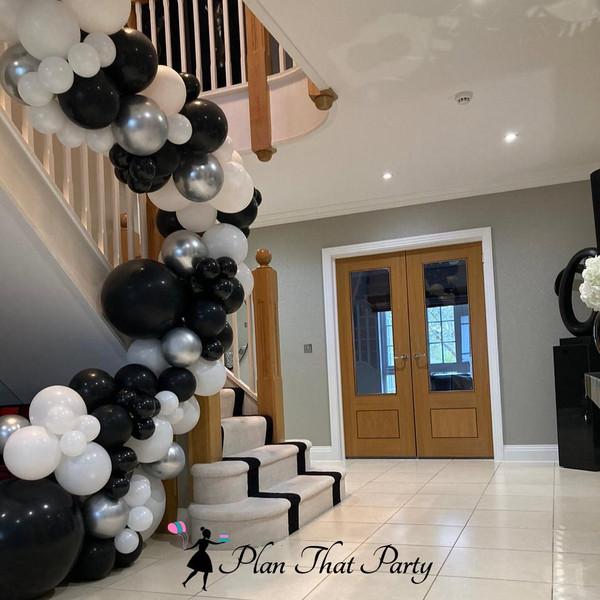 Staircase Balloons