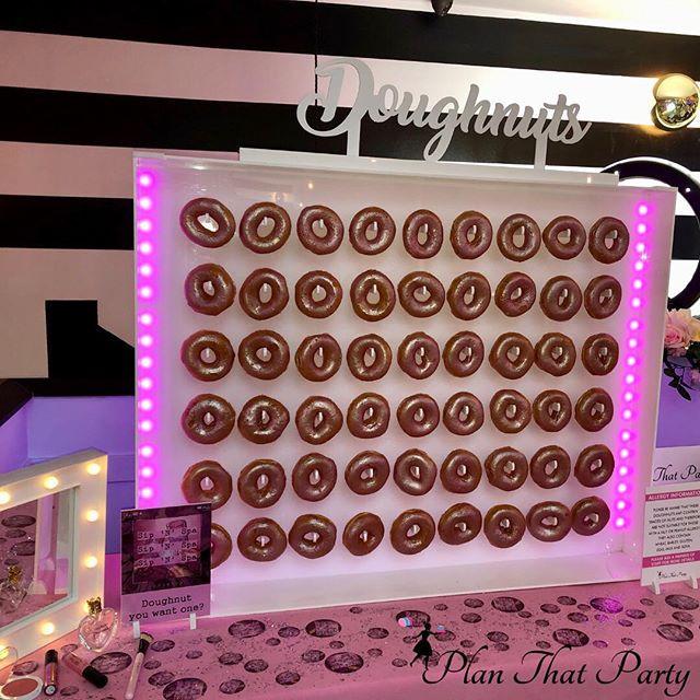 Pretty in Pink Dougnut Wall
