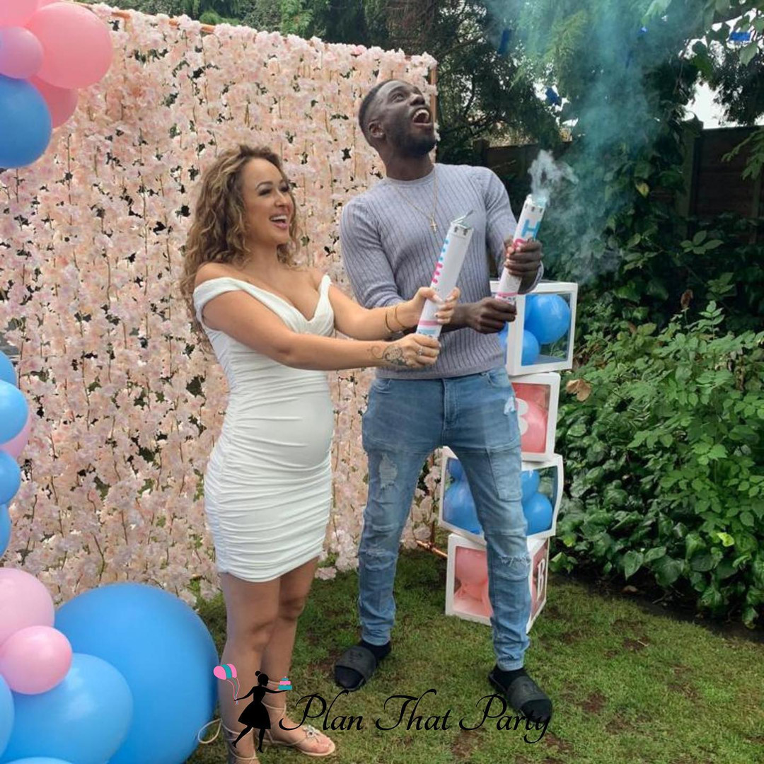 Marcel Somerville and Rebecca Vieira's Gender Reveal