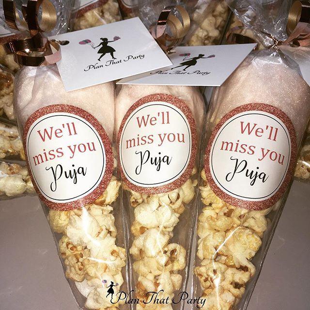 Puja's Pop 'n' Floss Cones