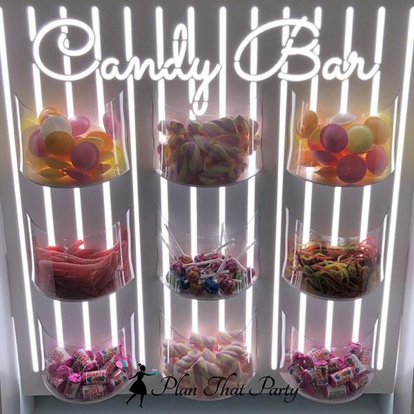 Candy Bar Wall