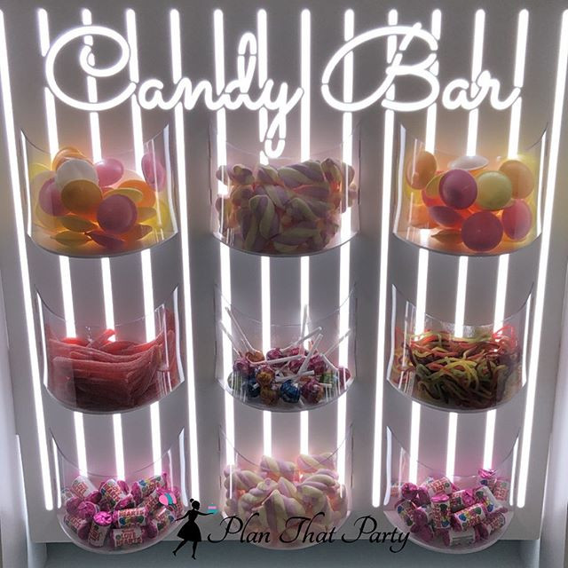Candy Bar Wall
