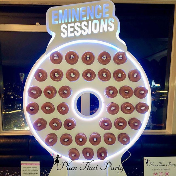 Eminence Sessions Branded Ring Doughnut Wall