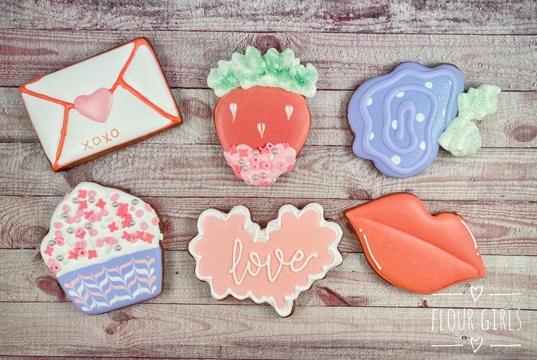 February Cookie class: Valentine's