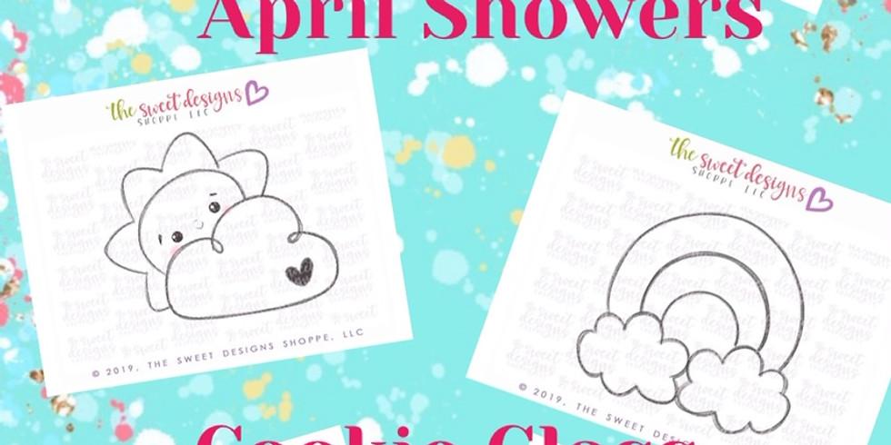 April Showers Cookie Class