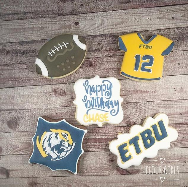 Happy birthday to an ETBU football playe
