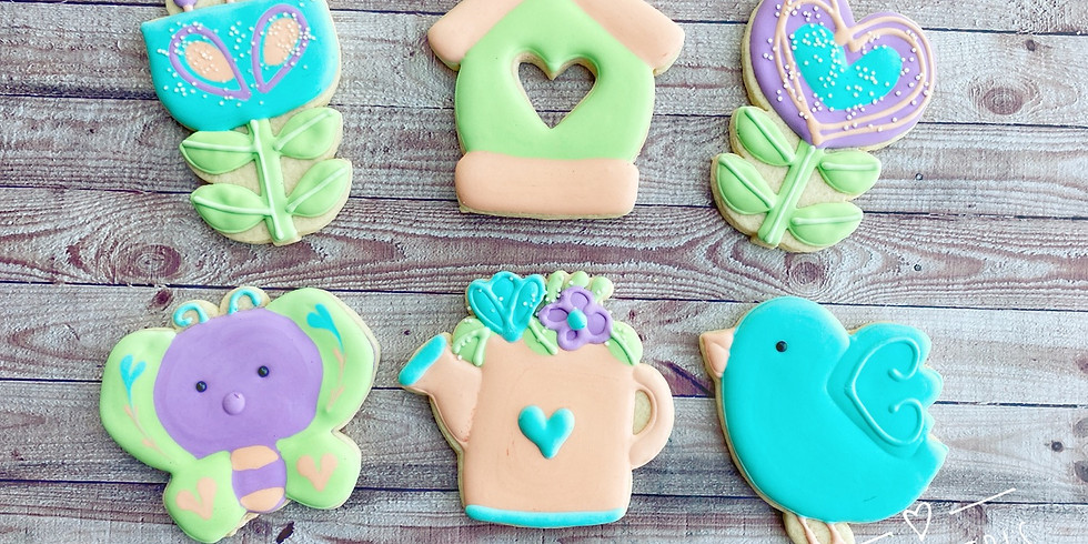 MAY FLOWERS ONLINE COOKIE CLASS
