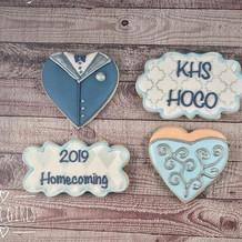 Kingwood HS Pre-homecoming cookies. Enjo