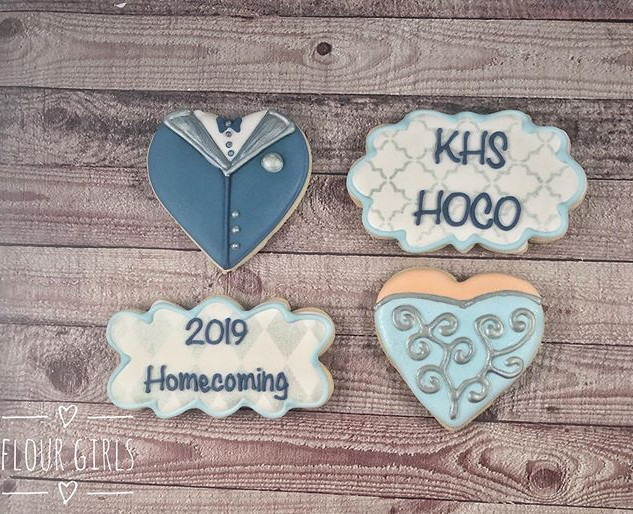 Kingwood HS Pre-homecoming cookies. Enjo