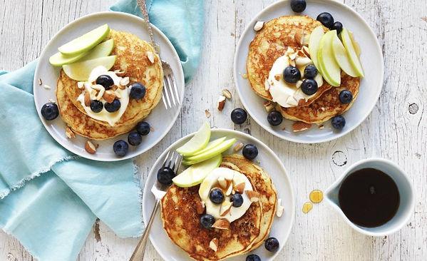 Gluten-free-apple-almond-pancake-stack-0