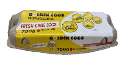 Golden Eggs cage 700g