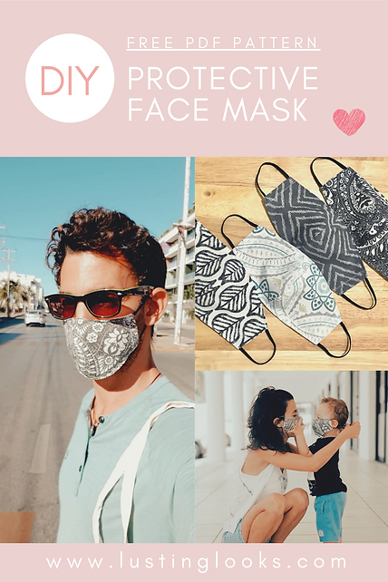 PINTEREST PROTECTIVE OLSON FACE MASK COV