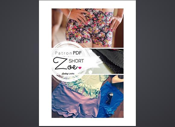 Shorts Zoe | Patrón PDF