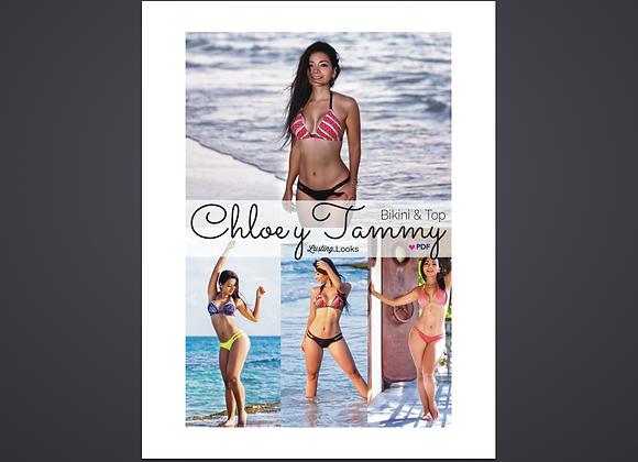 Tammy & Chloe bikini set | Patrón PDF