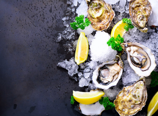 Easy way to recognise good fresh oysters