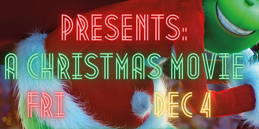 Christmas Movie Marathon - December 4th
