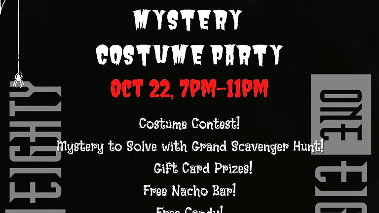 Who Dun It? Mystery Costume Party