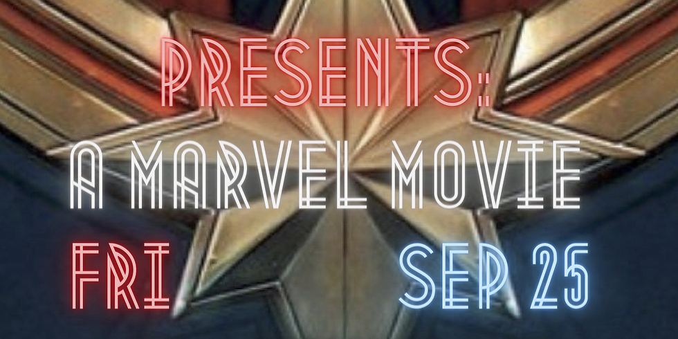 Outdoor Movie Theate - September 25th