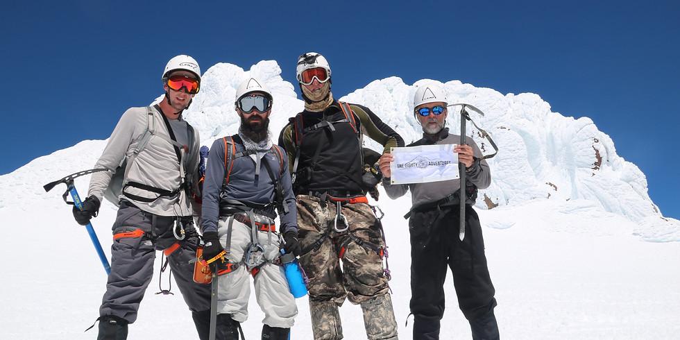 Mount Shasta Fundraiser Climb 1