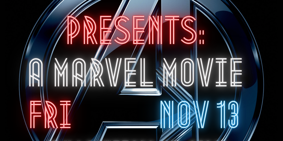 Marvel Movie Marathon - November 13th