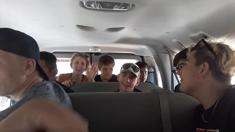 Talking In The Van.jpg
