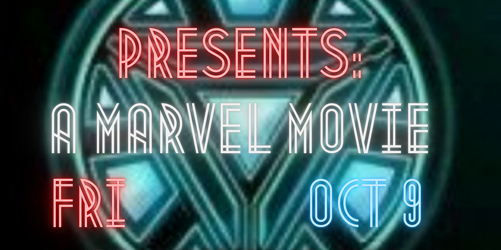 Outdoor Movie Theate - October 9th