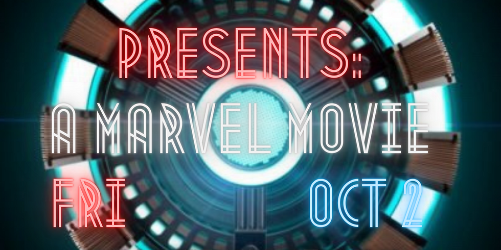 Outdoor Movie Theate - October 2nd