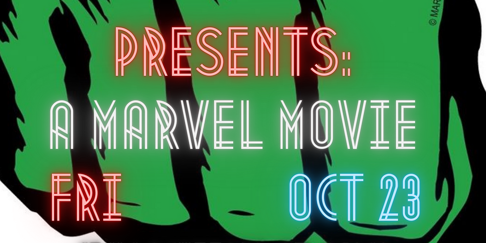 Outdoor Movie Theate- October 23rd