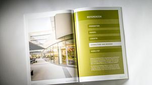 Architekturfotografie: Veröffentlichung in Imagebroschüre |  Unternehmensgruppe Klebl