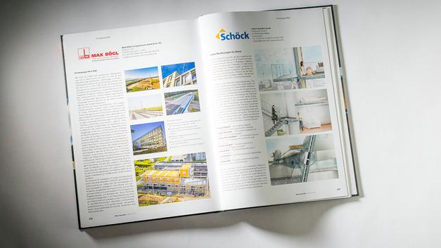 Drohnen Luftbilder: Veröffentlichung Anzeige Max Boegl  Bauverlag BV GmbH