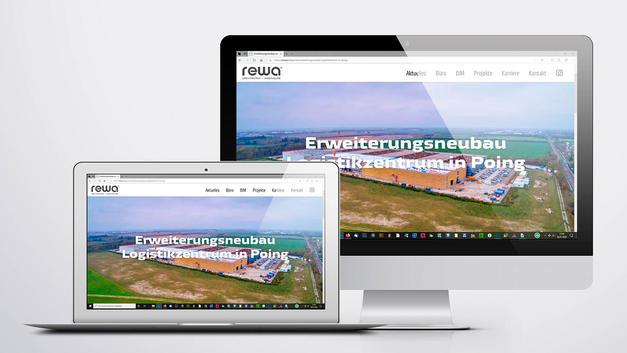 Drohnen Luftbild: Veröffentlichung auf der Website der REWA Architekten und Ingenieure