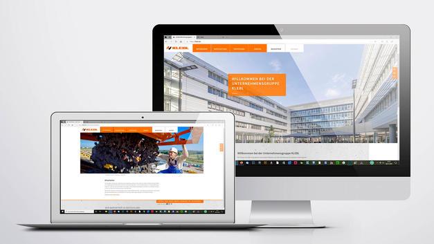 Architekturfotografie: Veröffentlichung auf Website |  Unternehmensgruppe Klebl