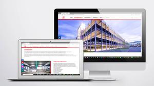 Architekturfotografie: Veröffentlichung auf Website | Firmengruppe Max Bögl
