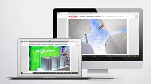 Industriefotografie: Veröffentlichung auf der Website der  MEIER Betonwerke GmbH Lauterhofen