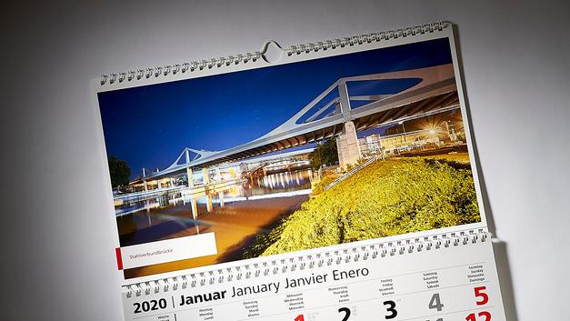 Architekturfotografie: Veröffentlichung auf 3 Monatskalender | Firmengruppe Max Bögl