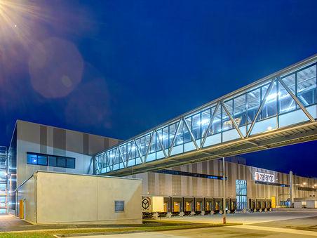 Architekturfotografie: Logistikzentrum eines Versandhändlers